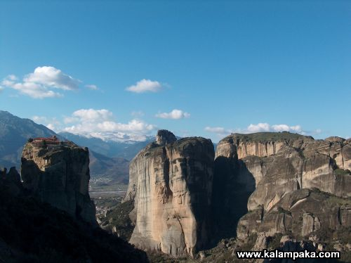 Meteora, an unique phenomenon